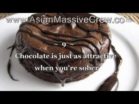 ★ ♥ ★  12 Reasons Why Chocolate Is Better Than Sex! ★ Www.asian-massive-crew ★ ♥ ★ video