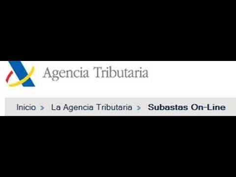 ¿Cómo se participa en una subasta on-line de la Agencia Tributaria?