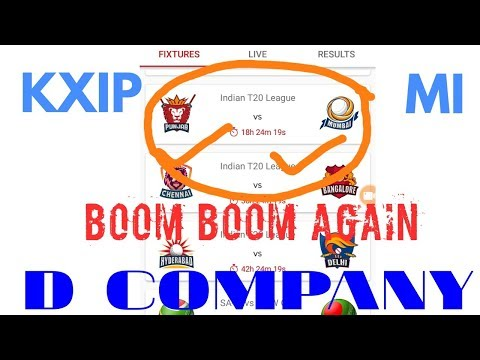 KXIP VS MI DREAM11 TEAM PREDICTION IPL 2018 34TH MATCH | KXIP VS MI PLAYING 11