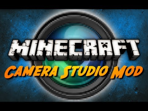 Minecraft Mod Review: CAMERA STUDIO MOD!