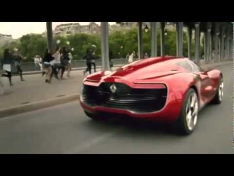 Renault DeZir Commercial France 2011 Electric Car - Carjam Car Radio Show
