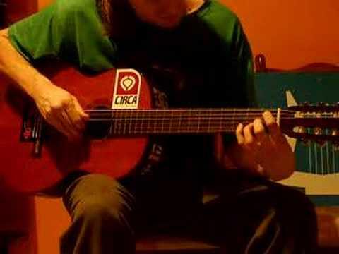 Technical Classical Guitar Riffs