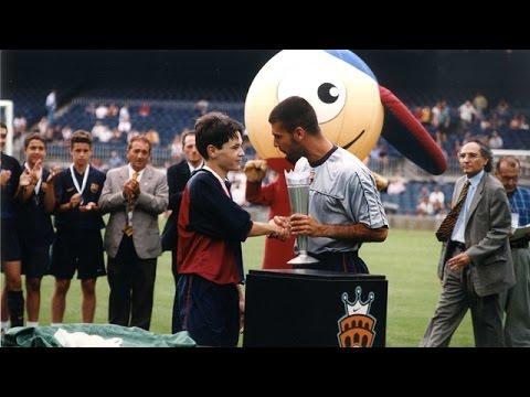 Andrés Iniesta vs Rosario Central ● 1999 Nike Premier Cup Final ● Cadet A