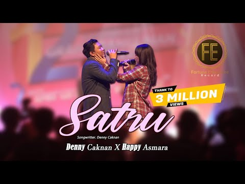 Download Lagu DENNY CAKNAN ft HAPPY ASMARA - SATRU (   ).mp3