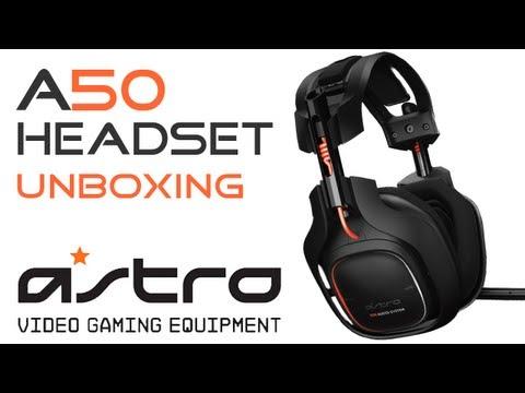 Astro a50 headset pc setup