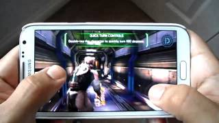 SAMSUNG GALAXY NOTE 2 DEAD SPACE GAMEPLAY