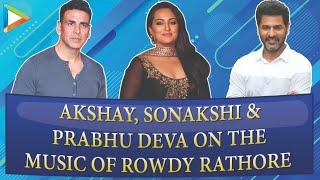 Akshay Kumar, Sonakshi Sinha, Prabhudeva Deva Celebrate Rowdy Rathore