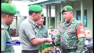 GEMILANG TELEVISI -SERAH TERIMA JABATAN BARU DI JAJARAN KODIM 0314 INHIL