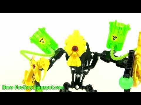 LEGO Hero Factory -- Meltdown review