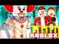 Roblox Family - CREEPY CLOWN TRAPS US IN A ROOM! WE MUST ESCAPE!! (Roblox Roleplay)