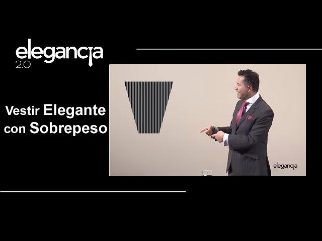 Como Vestir Elegante con Sobrepeso o Tallas Grandes. Episodio 1 - Bere Casillas (Elegancia 2.0)