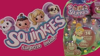 Disney Princess Friends Squinkies