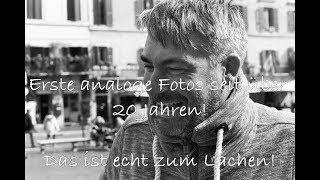 Verrückt! - Erste analoge Fotos seit über 20 Jahren!