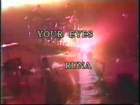Runa 1945    Your Eyes (live In Seoul, Asia Tour 2006 Sex For You) video