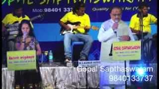 SPB Live - Ilayaraja's Vizhiyile Mani Vizhil for Gopal Sapthaswaram, Best Light Music Orchestra