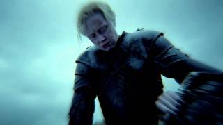 Game of Thrones Season 5: The Sight: Brienne and Podrick (HBO)