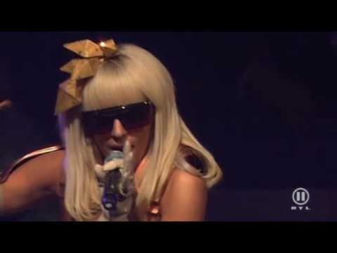 Lady Gaga - Just Dance (Live at The Dome 49) HD Music Videos