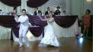 A Funny First Wedding Dance GTA