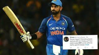 Virat Kohli's Century (110* runs) | India vs Sri Lanka - 5th ODI - tWiTteR rEaCtIoN!!