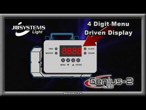 Genius 2 LED JBSYSTEMS  Ordercode 4158