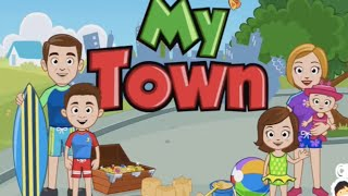 My Town : Beach Picnic - iPad app demo for kids - Ellie
