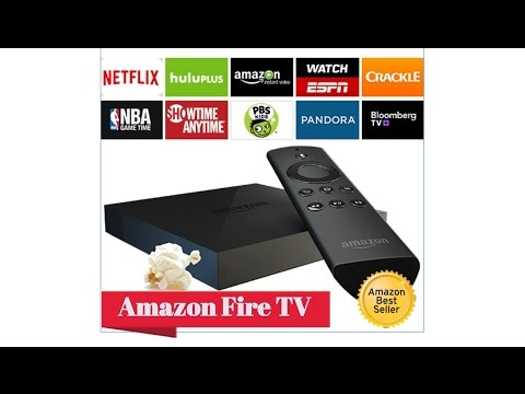 Buy Amazon Fire TV - Streaming media player with voice search, Netflix, Prime Instant Video, games