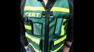 CERT Safety Vest Community Emergency Response Team Vest - TheVestGuy