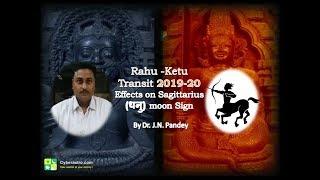 Rahu Ketu Transit 2019-2020 | Effects on Sagittarius(धनु राशि)in Hindi by CyberAstro