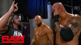 AJ Styles has harsh words for Luke Gallows & Karl Anderson: Raw Exclusive, June 17, 2019