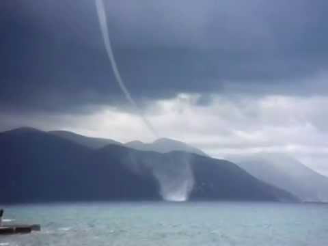 Trąba Powietrzna Barlinek W Chorwacji 2014 'whirlwind '