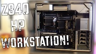 Ultimate HP Z840 44-Core 88-Thread 4K 3D Editing CAD Workstation!