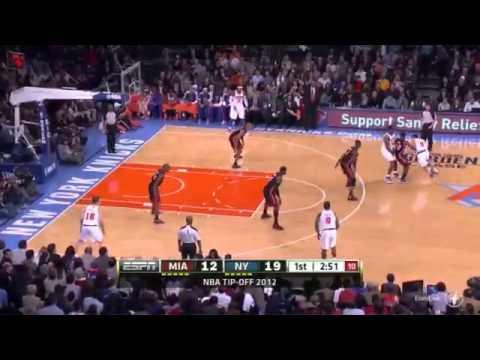 Carmelo Anthony 30pts Knicks vs Heat