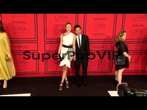 Candice Swanepoel and Prabal Gurung at 2013 CFDA Fashion ...