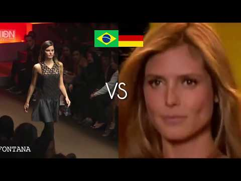 WORLD CUP 2014 SEMIFINAL - BRAZIL VS GERMANY TOP MODEL MATCH by Fashion Channel