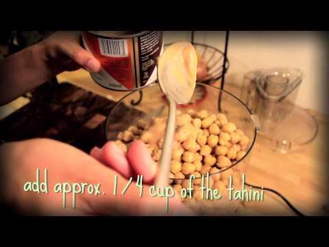 Health Nuts - Homemade Hummus