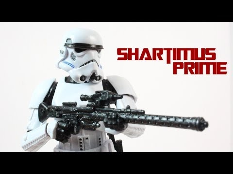 Star Wars Stormtrooper 6 Inch Black Series Wave 3 Figure Review