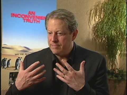 AL GORE GOES GREEN FOR AN INCONVENIENT TRUTH