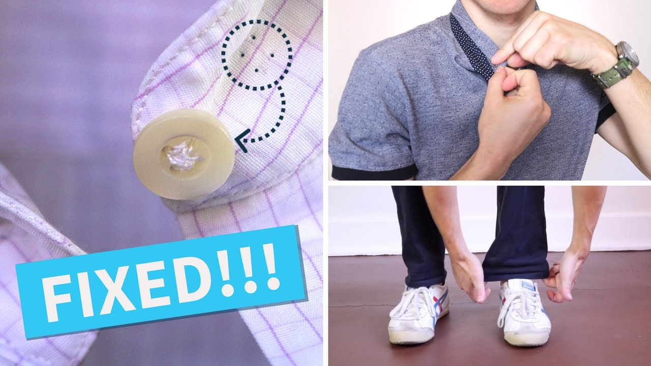 6 Men's Style Hacks EVERY Man Should Know | Fashion Hacks for Men