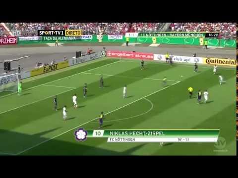 Bayern Munich VS Noettingen 3 - 1  DFB Pokal