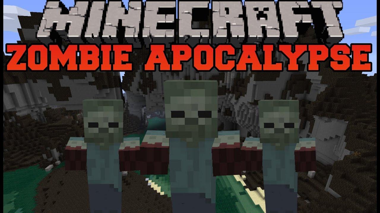 Смотреть видео майнкрафт зомби