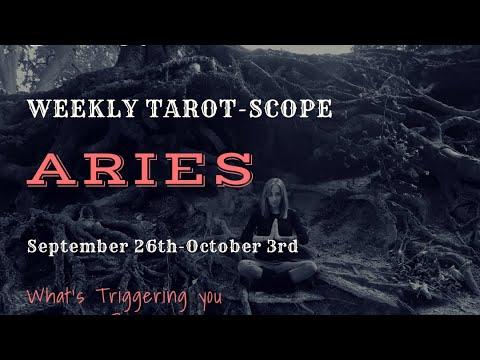 Aries September weekly tarot-scope