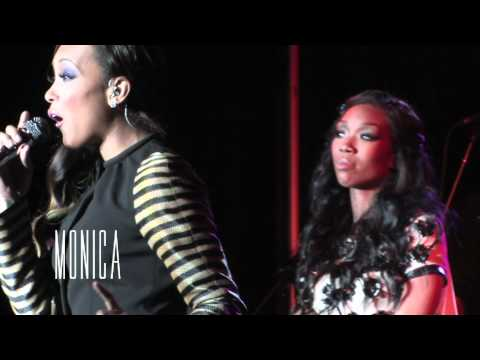 BRANDY & MONICA'S TRIBUTE TO WHITNEY HOUSTON @ V103 SOUL SESSION