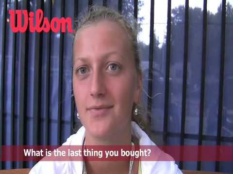 Wilson テニス On Tour with Petra Kvitova- 全米オープン 2009
