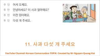Hội thoại tiếng Hàn  EPS TOPIK