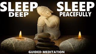 Guided meditation Deep sleep, fall asleep fast relaxation bodyscan hypnosis
