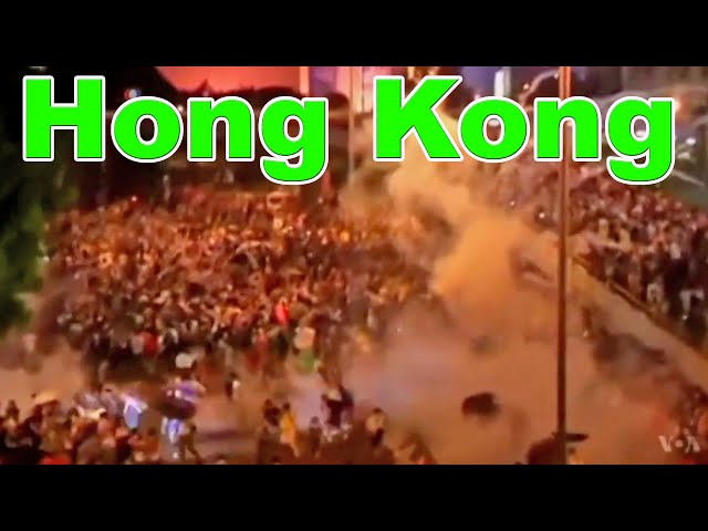 Hong Kong Protests Video - Occupy Central