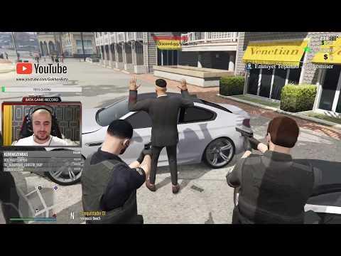 GTA 5 Polis BATA Kick Boks Turnuvasına Katıldı Olanlar Oldu.