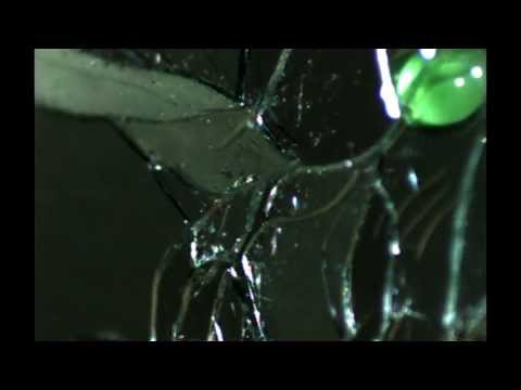 Breaking Glass in Slow motion What you don't see