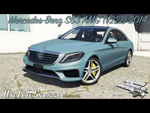 Mercedes-Benz S63 yellow brake caliper [add-on]