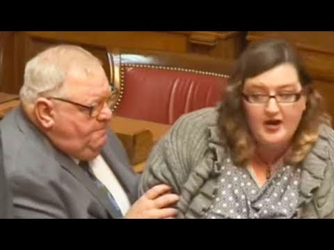 Politicians Kick Woman Out For Exposing Their Corruption (VIDEO)